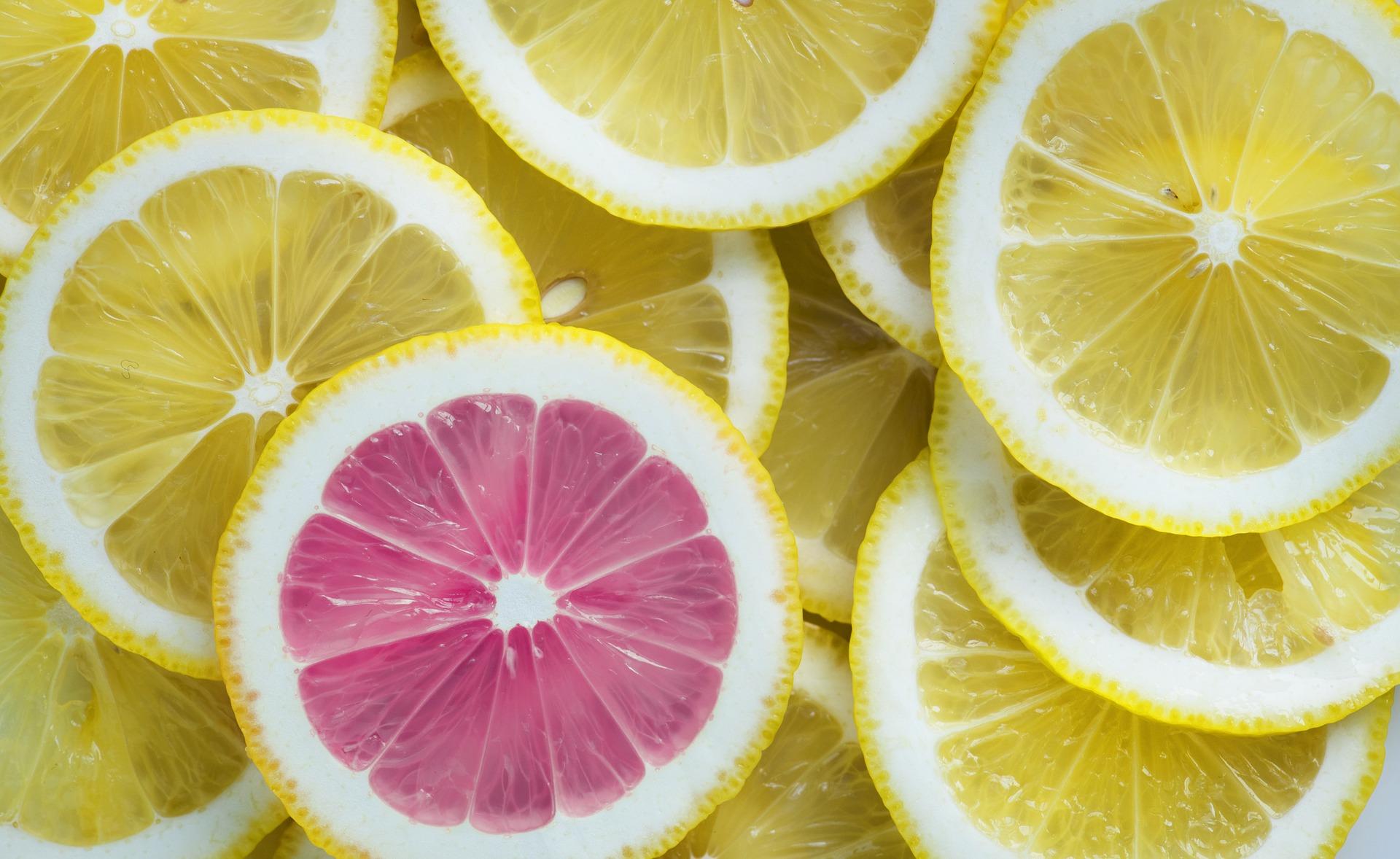 Limonene is found in lemons